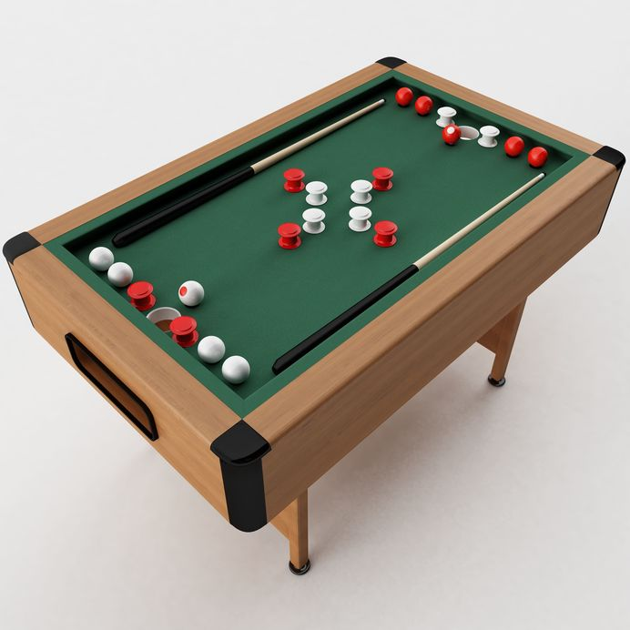 game table,The Unclear History of the Game of Bumper Pool